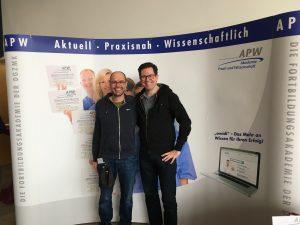 Dr. Pawlak auf Fortbildung in Frankfurt